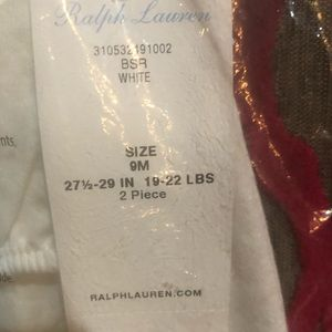 Ralph Lauren Matching Sets - Ralph Lauren Girls white outfit! 2 piece NWT 🎉🎉